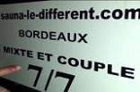 sauna libertin Le Différent à Bordeaux