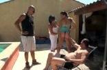 leçon de porno amateur avec un couple échangiste de Marseille