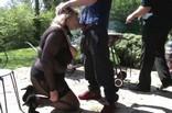 barbecue candauliste chez un couple de Honfleur