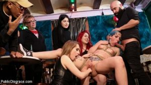 partouze BDSM dans un bar de Barcelone