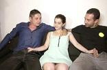 sextape d'un jeune couple trioliste français