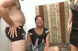 threesome anal avec une mamie libertine de Rouen