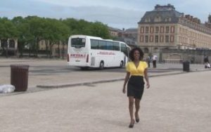 exhib au château de Versailles et baise libertine intense